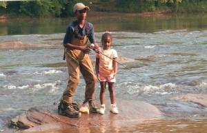 Kids Fishing Day 2008 at Jones Bridge Park