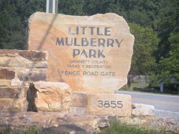 Little Mulberry Park - Entrance