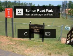 Bunten Road Park Blogsite - Flickr Slide Show