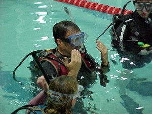 Scuba class at Bogam Park Pool