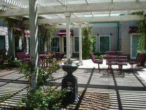 Senior Center Patio
