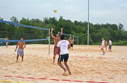 Duncan Creek Park Volleyball