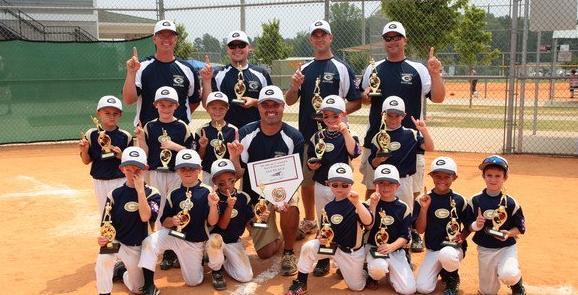 Fall Baseball Registration with Grayson Athletic Association Online Until July 31, 2001