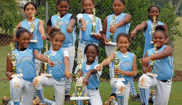 Shiloh Athletic Association's 2012 8u Angels All-Stars Bring Home A Championship Trophy