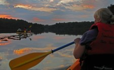 Dusk Canoeing at Georgia State Parks