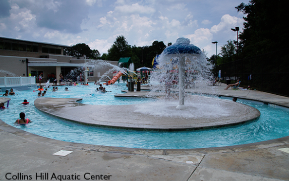 9 great gwinnett county aquatic parks and pools for Collins hill
