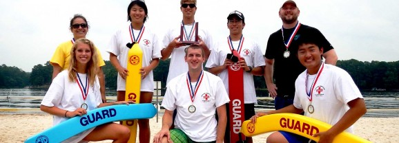 GWINNETT COUNTY LIFEGUARDS WIN STATE COMPETITION  THIRD YEAR IN A ROW