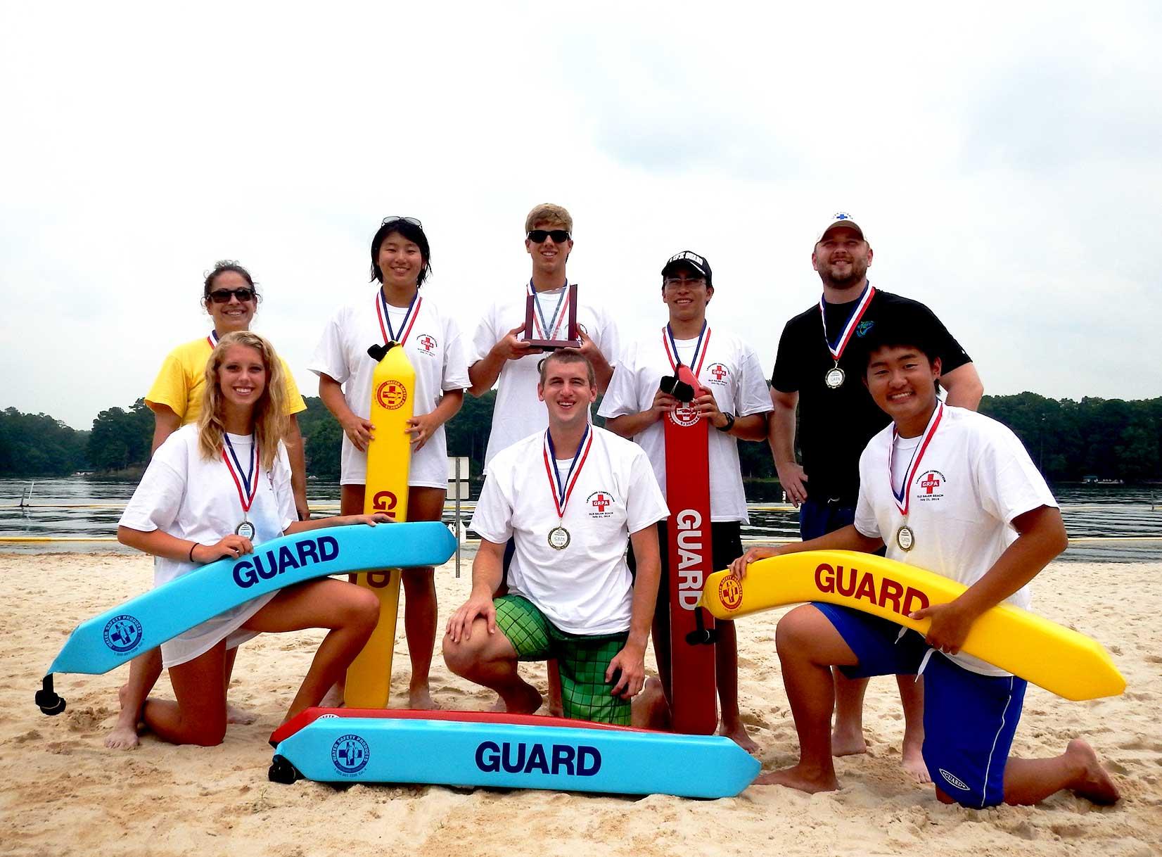 Gwinnett County Parks Lifeguard State Champions 2014
