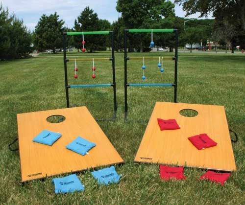 Cornhole and Ladderball