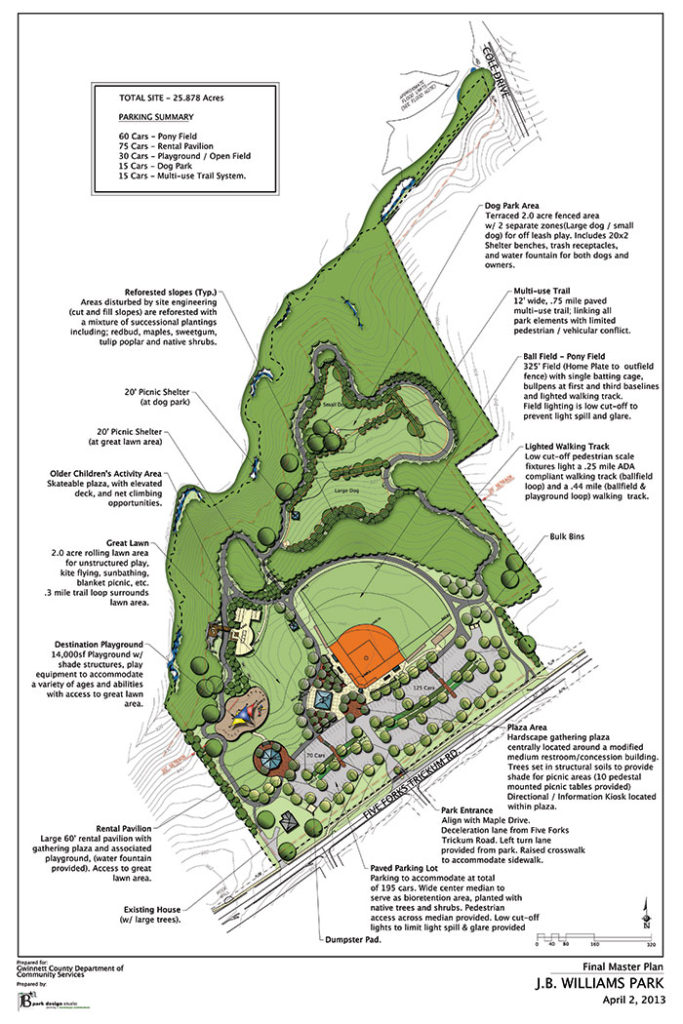 JB Williams Park Master Plan