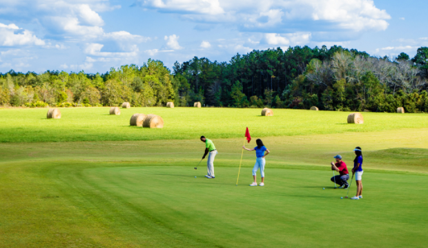 Golfing in Georgia State Parks